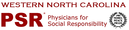 Physicians for Social Responsibility - Western North Carolina