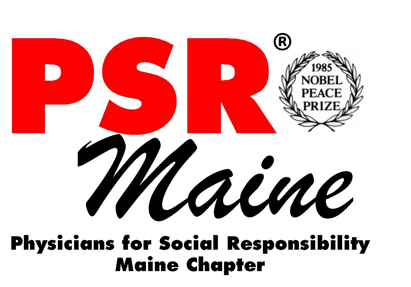 Physicians for Social Responsibility - Maine